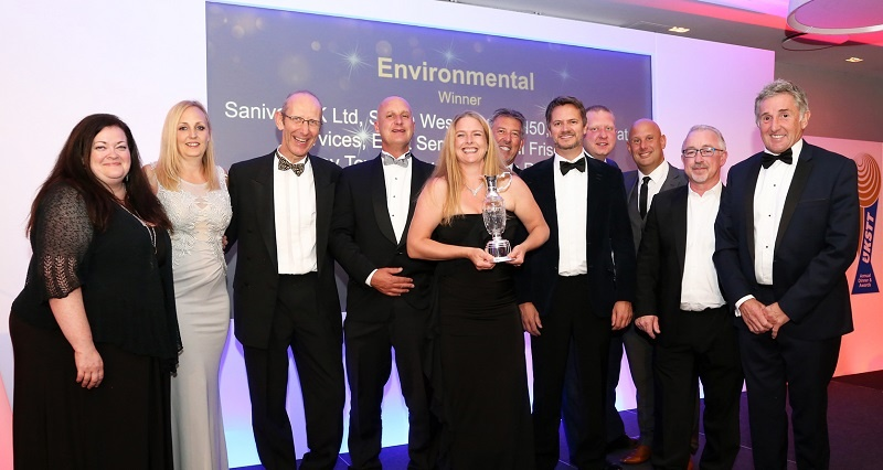 2019 Environmental Award Winner - Sanivar UK Ltd, South West Water
