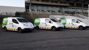 Morrison Utility Services Introduce Electric Vans to Thames Water Smart Metering Fleet