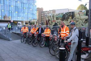 MUS Joins Forces with TFL to Host Constructors Cycle Experience